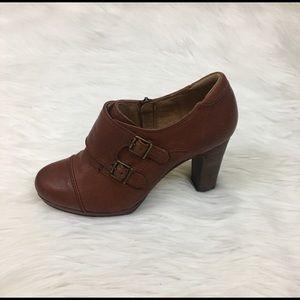 Clarks Artisans heeled booties